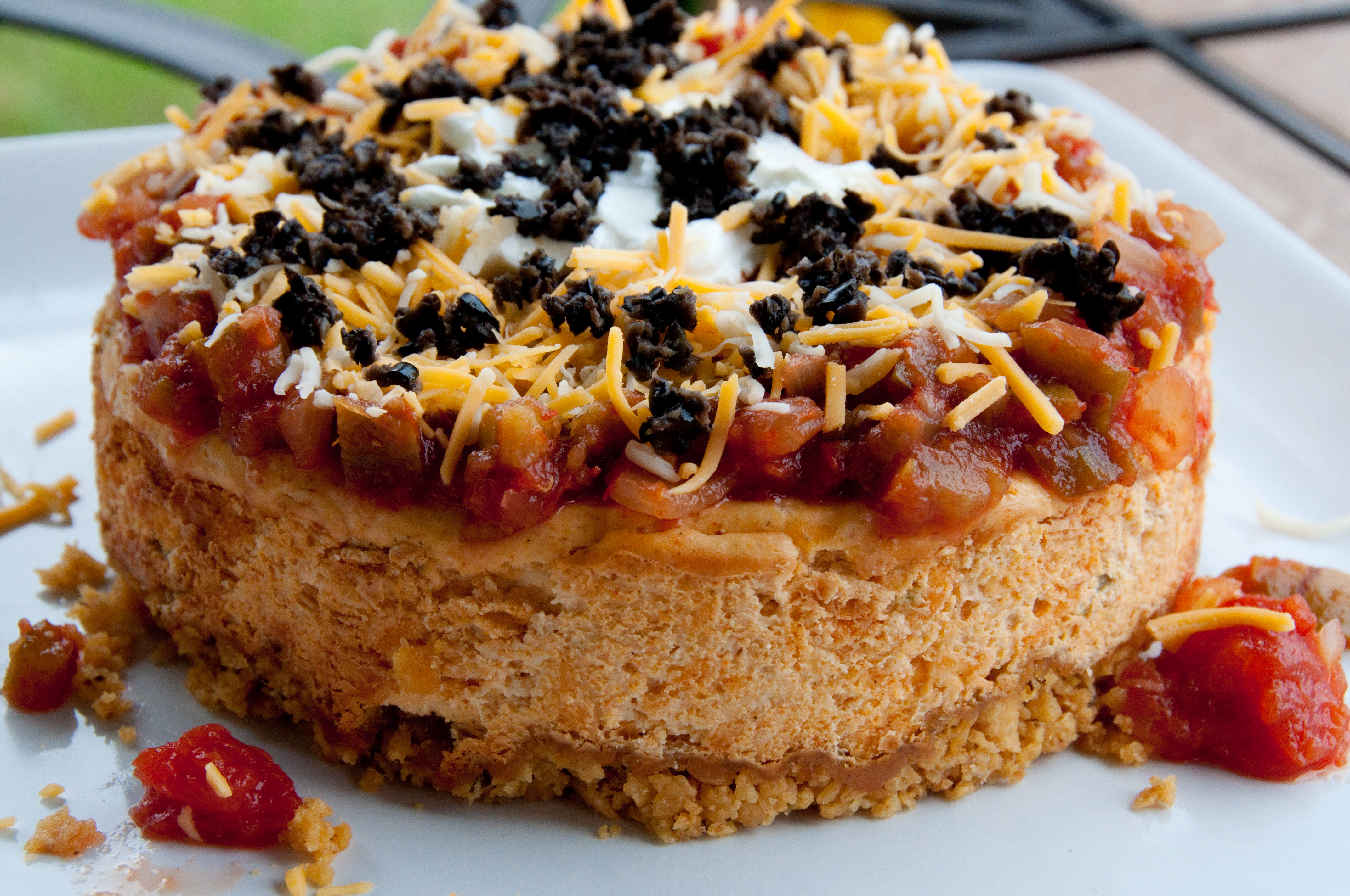 Mexican Appetizer Cheesecake